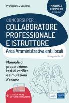 Collaboratore professionale e Istruttore - Area amministrativa degli enti locali
