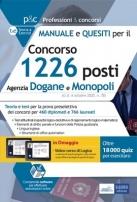 Concorso Agenzia Dogane e Monopoli: manuale e quesiti per la preselezione